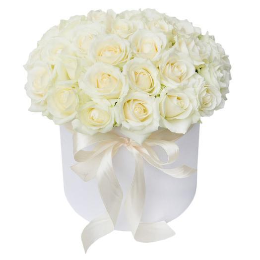Шляпная коробка 26: букеты цветов на заказ Flowwow