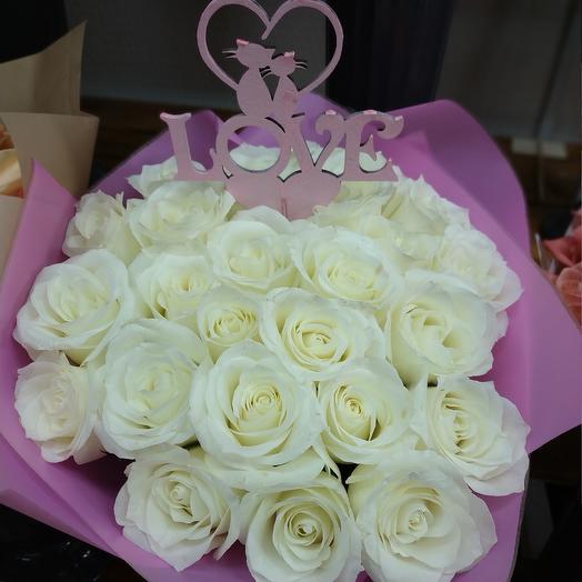 "Букет""для Любимой"": букеты цветов на заказ Flowwow"