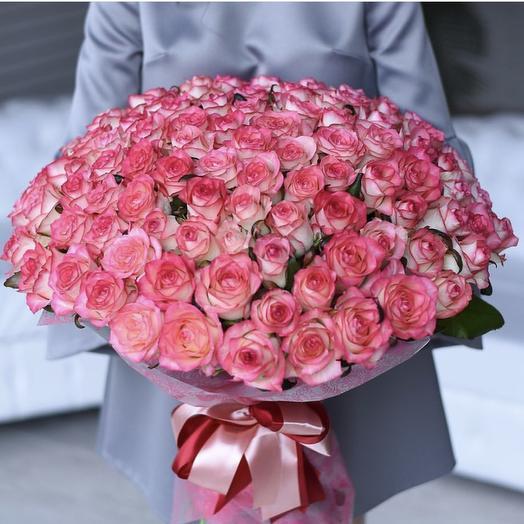 Коралловый мираж: букеты цветов на заказ Flowwow