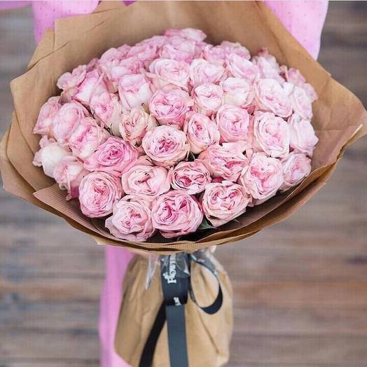 Розовый зефир: букеты цветов на заказ Flowwow