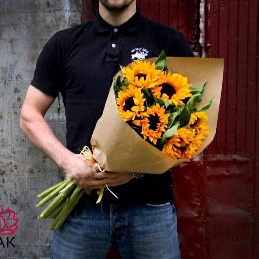 Солнце ️: букеты цветов на заказ Flowwow