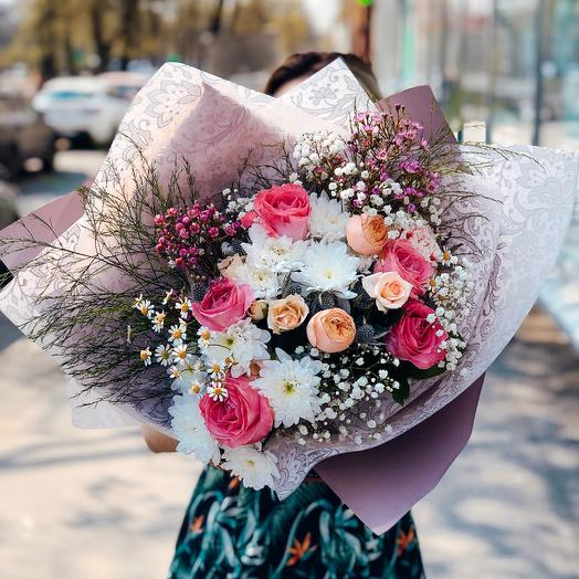 Букет 165: букеты цветов на заказ Flowwow