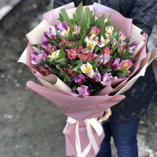 Букет 194: букеты цветов на заказ Flowwow
