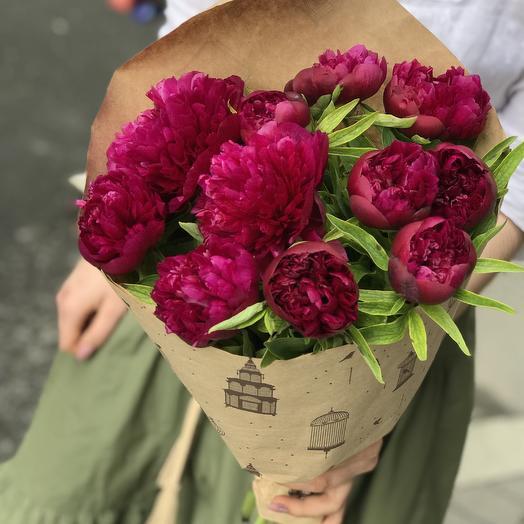 Супер пионы по сепер цене: букеты цветов на заказ Flowwow