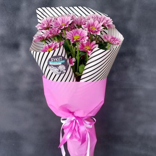 Яркие хризантемы: букеты цветов на заказ Flowwow