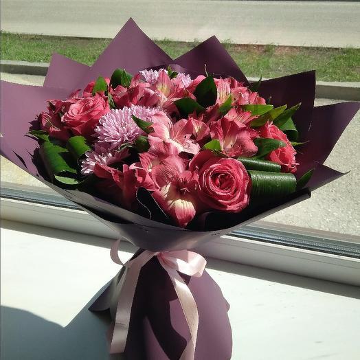 """Букет """"Очарование"""": букеты цветов на заказ Flowwow"""