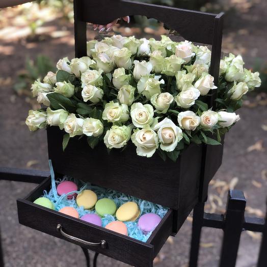 Шикарный комод: букеты цветов на заказ Flowwow