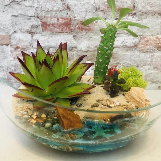 Композиция из коллекции «Ах, море»: букеты цветов на заказ Flowwow