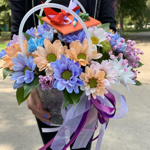 1 сентября- Сумочка с цветами