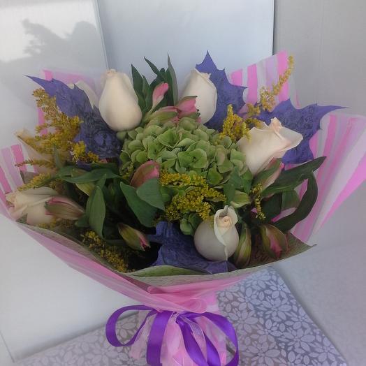 Настроение любви: букеты цветов на заказ Flowwow