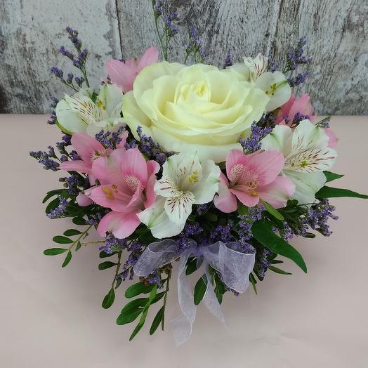 Маленькое счастье: букеты цветов на заказ Flowwow