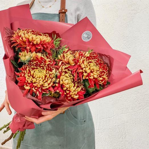 Осенний закат: букеты цветов на заказ Flowwow