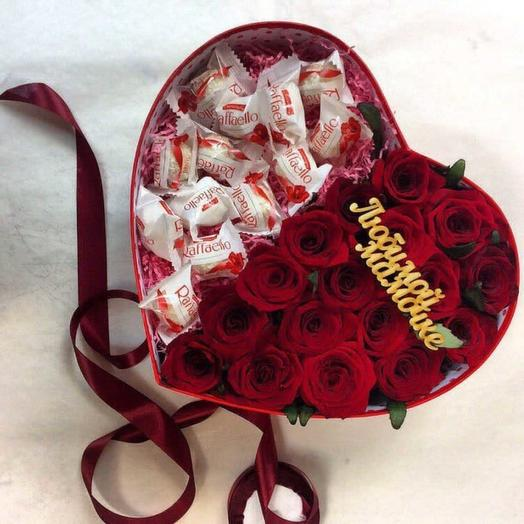 Мое сердце мамочке: букеты цветов на заказ Flowwow