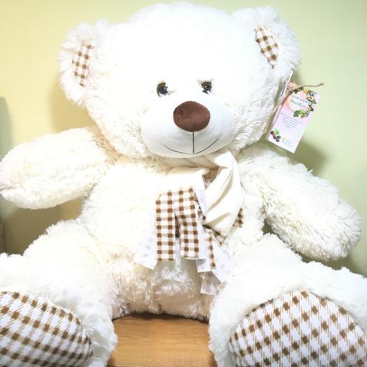 Медведь Тофи: букеты цветов на заказ Flowwow
