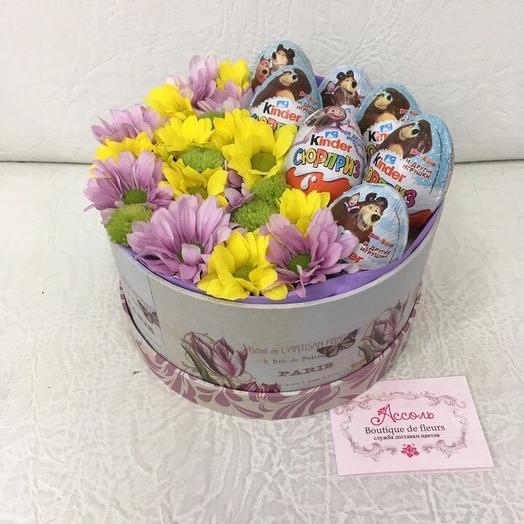 Яркий сюрприз: букеты цветов на заказ Flowwow