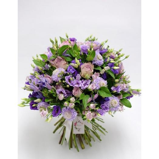 БУКЕТ ИЗЫСКАННЫЙ САД: букеты цветов на заказ Flowwow