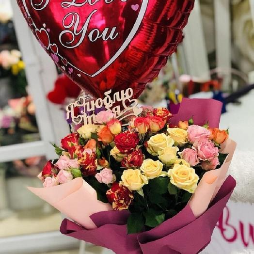 Подарочный набор в День Валентина