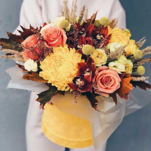 Солнечный ноябрь: букеты цветов на заказ Flowwow