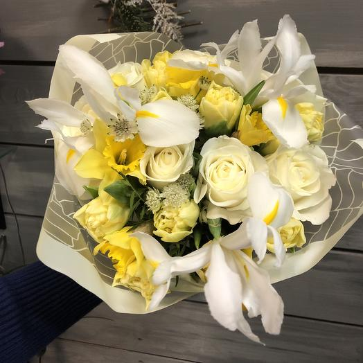 Весеннее солнце: букеты цветов на заказ Flowwow