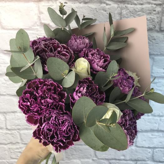 Букет «Эсмеральда»: букеты цветов на заказ Flowwow