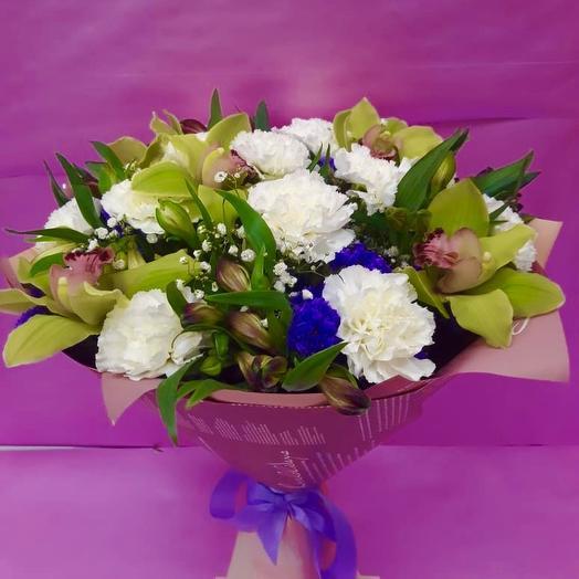 Букет Хрустальное утро: букеты цветов на заказ Flowwow