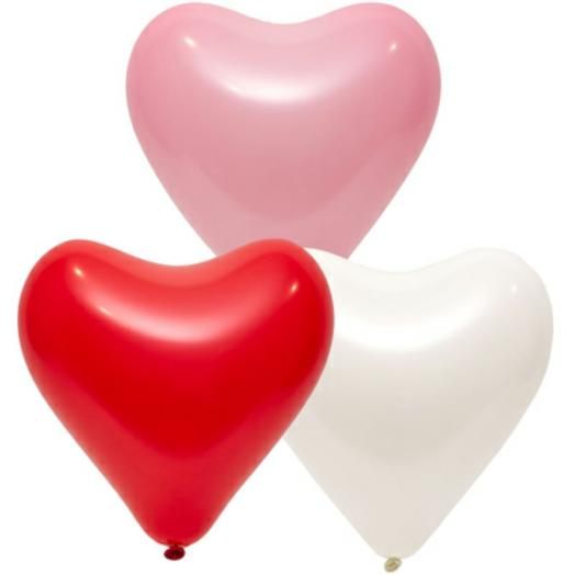 шары Микс сердец