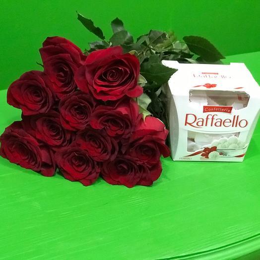 11 Роз и раффаэлло