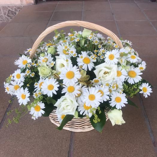 Лето в корзинке: букеты цветов на заказ Flowwow