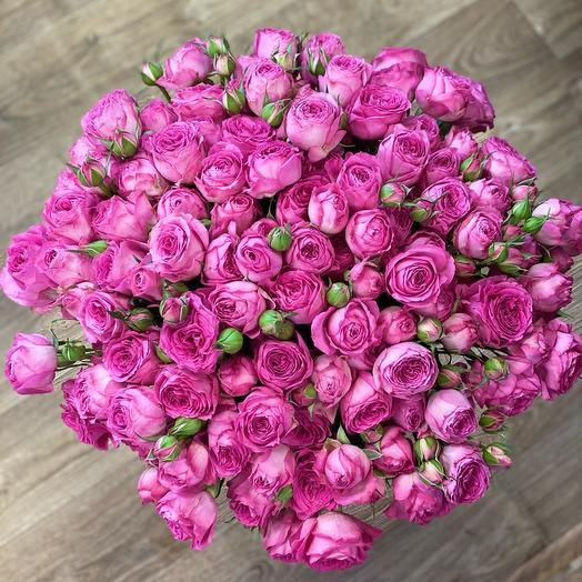 Букет Роза-пион