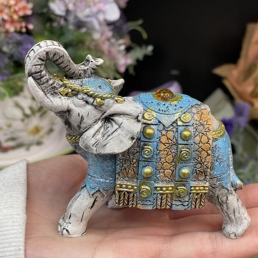 Слон 10см керамика