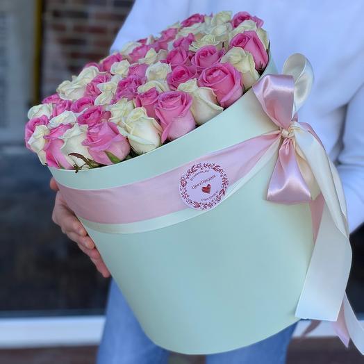 51 Роза в коробке 💐