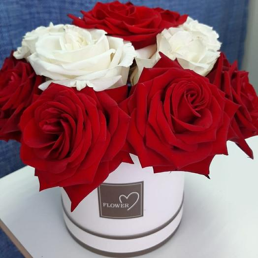 11. Розы в шляпной коробке