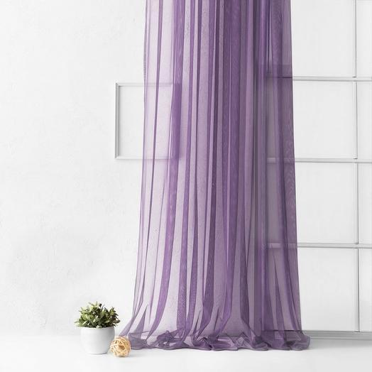 Портьера Грик Фиолетовый, 500х270 см - 1 шт