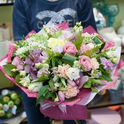 Букет цветов Эвелина