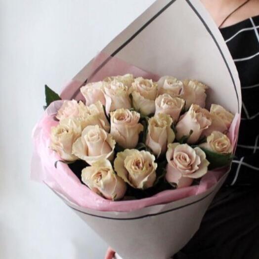 Букет с розой Мондиаль