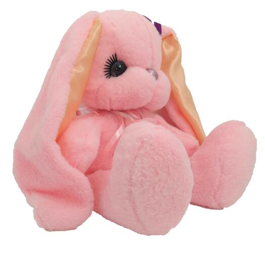 Заяц 50 см «Люнет» Длинные Ушки Розовый
