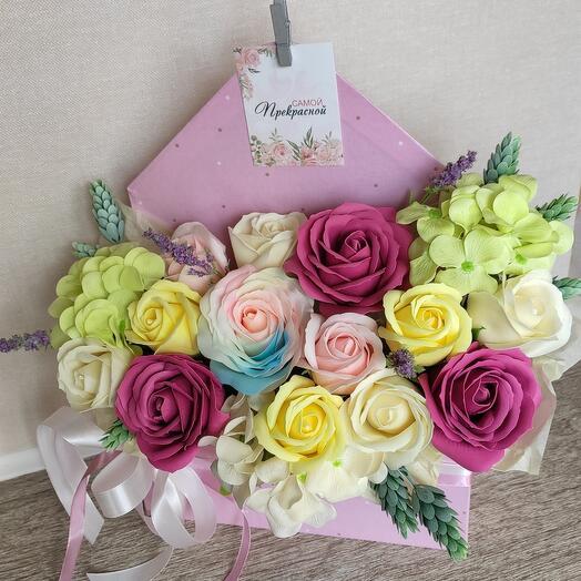 Цветочный конвертик