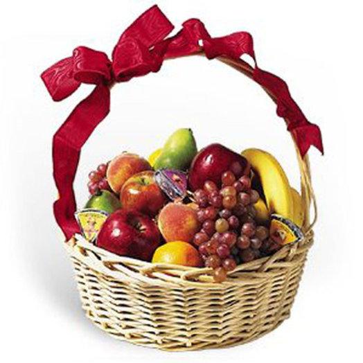 006 Корзина фруктов: букеты цветов на заказ Flowwow