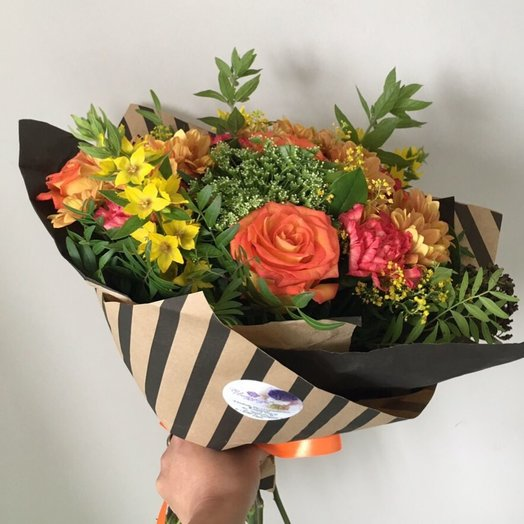 Букет 225: букеты цветов на заказ Flowwow