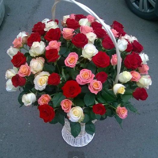 Великолепный микс: букеты цветов на заказ Flowwow