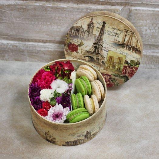 French sweets M: букеты цветов на заказ Flowwow