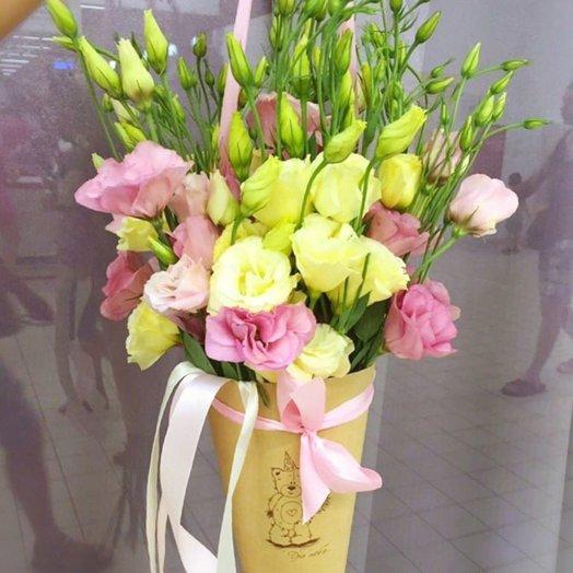 Кулечек счастья: букеты цветов на заказ Flowwow