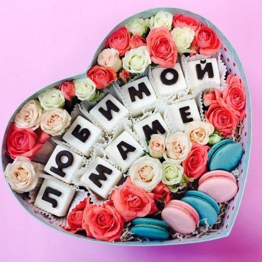 Для самой важной женщины в мире ♥: букеты цветов на заказ Flowwow
