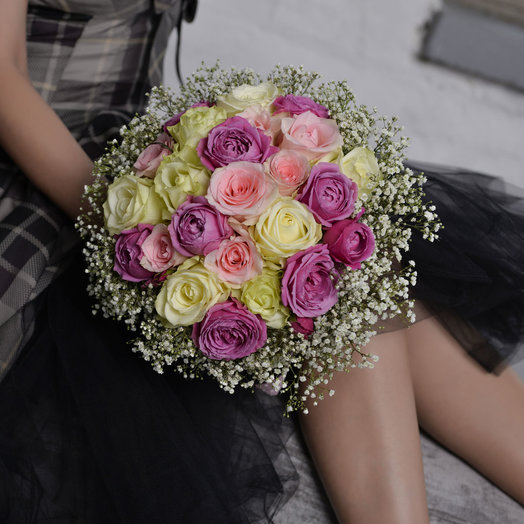 Romantic moment: flowers to order Flowwow