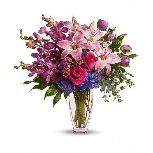 Букет «Радуга чувств»: букеты цветов на заказ Flowwow