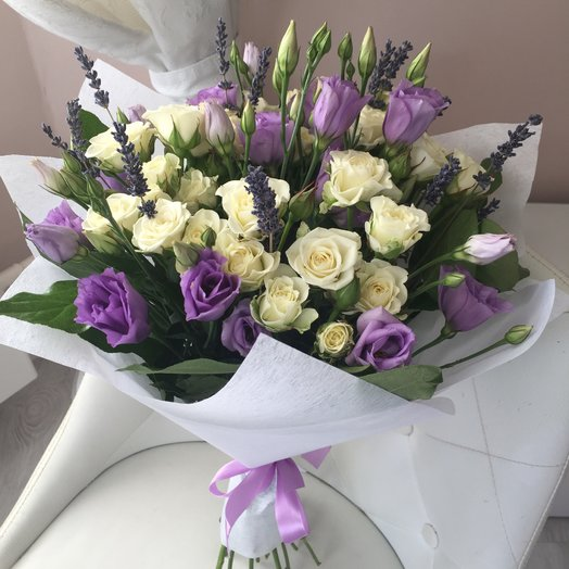 "Bouquet ""Violet"": flowers to order Flowwow"