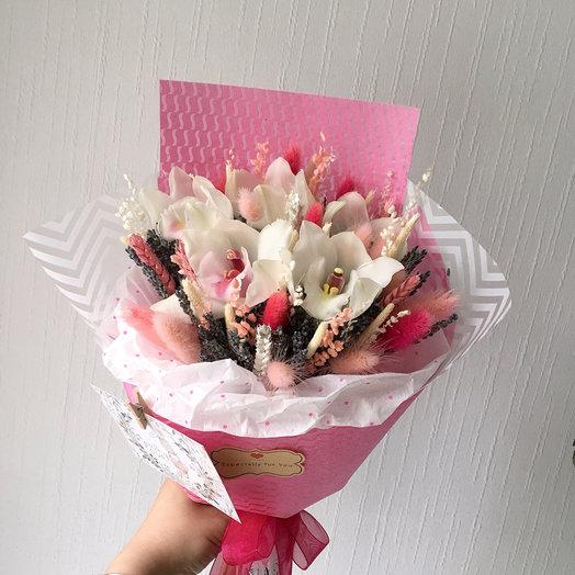 Трепетные чувства: букеты цветов на заказ Flowwow