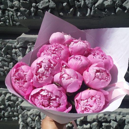 Пиончики супер: букеты цветов на заказ Flowwow