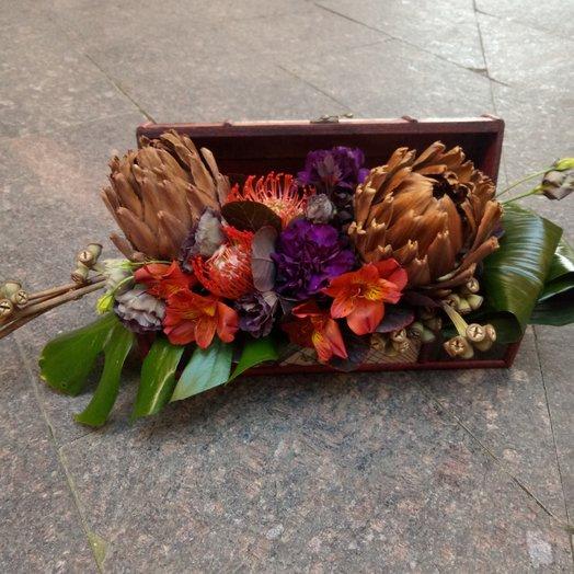Сокровище пиратов : букеты цветов на заказ Flowwow