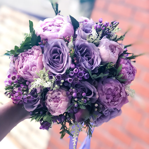 Букет невесты «Вдохновение»: букеты цветов на заказ Flowwow